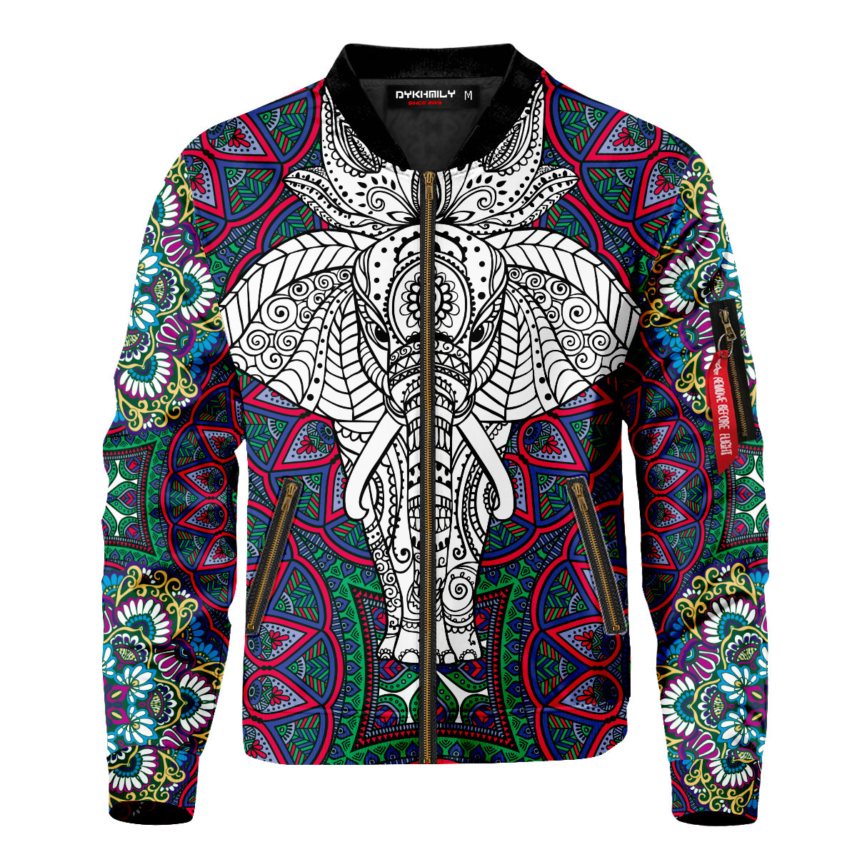 Elephant Spirit Bomber Jacket
