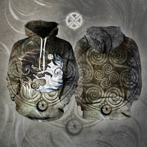 Legend Of Light & Darkness Unisex Pullover Hoodie