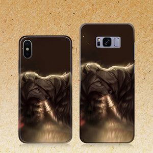 Divine Couple Wolf Phone Case