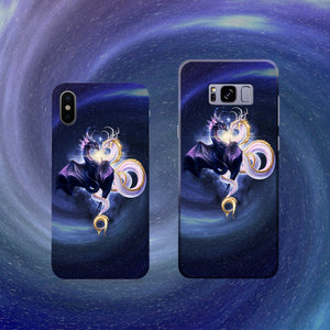 East & West United (Blue Spiral) Phone Case