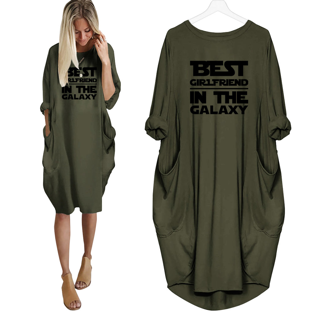 Best Girlfriend In The Galaxy Dress