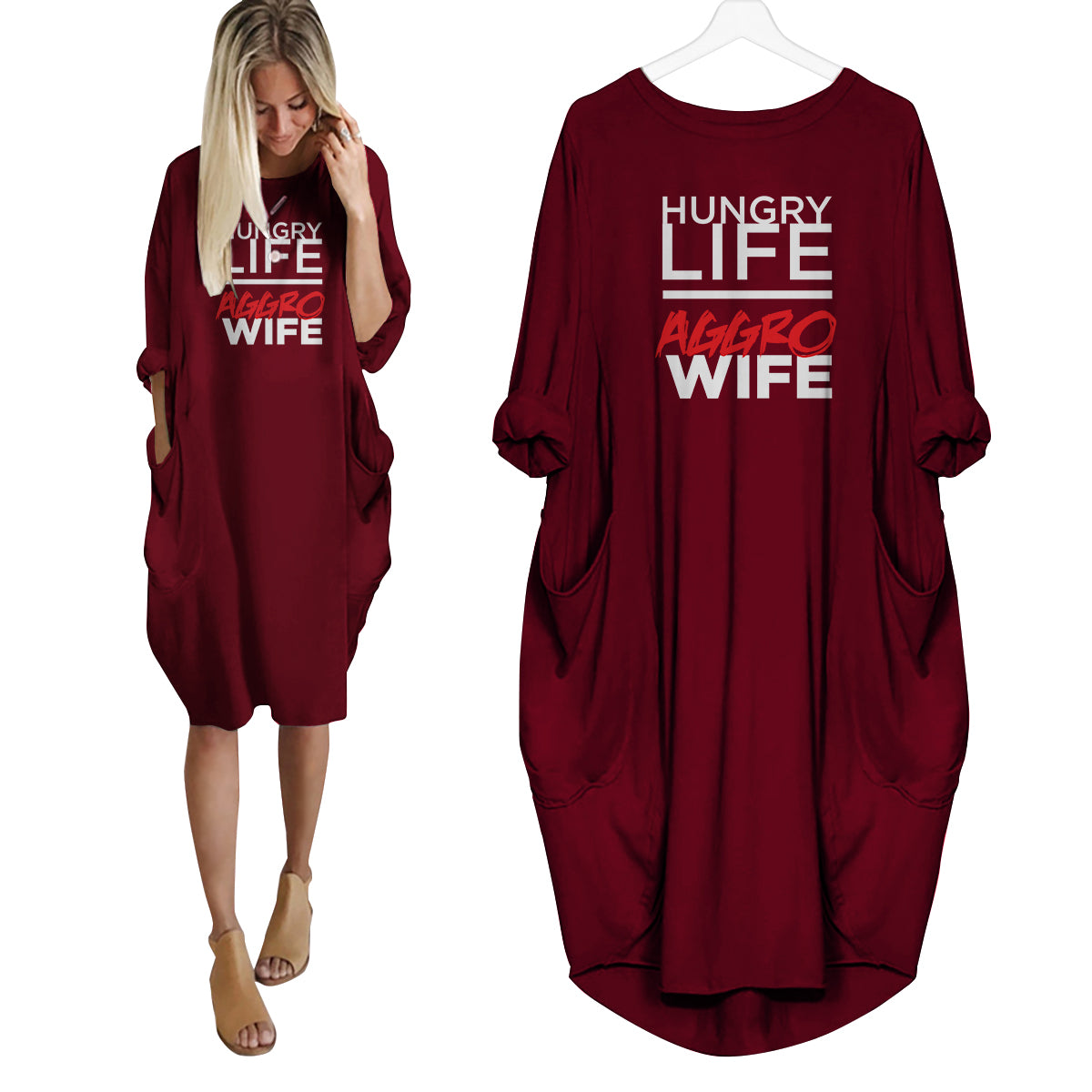 Hungry Wife Aggro Life Dress
