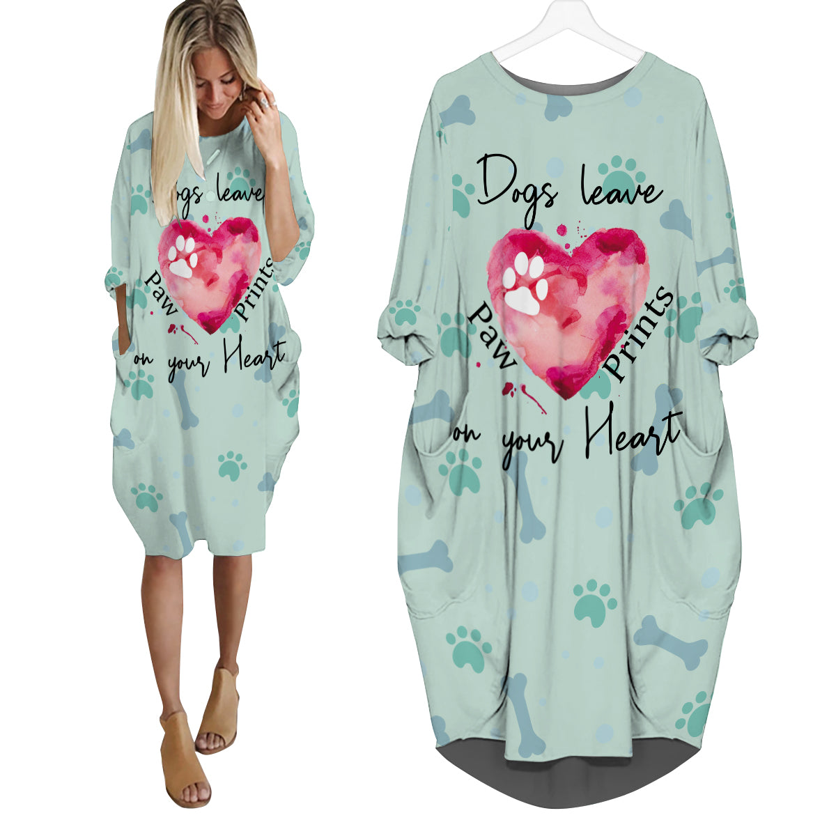 Paw Prints on your Heart Dress