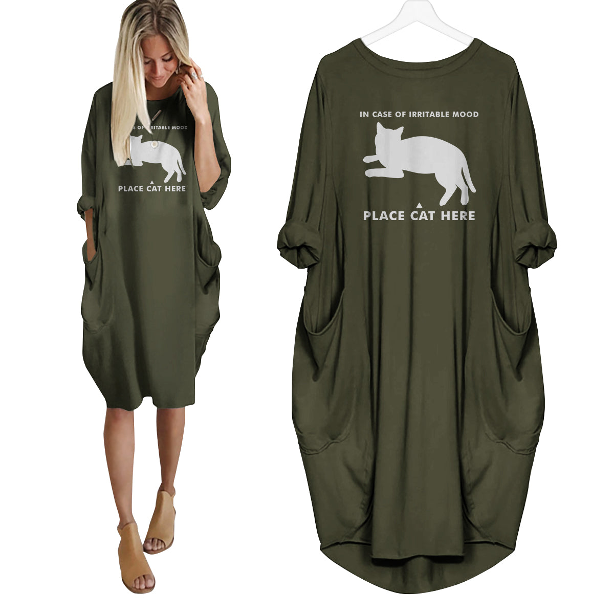 Place Cat Here Dress