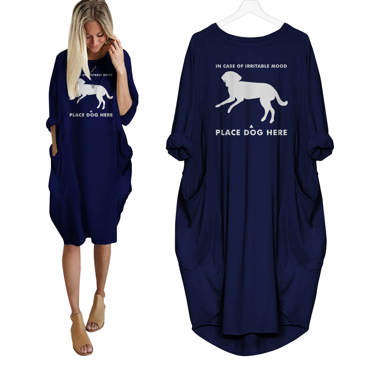 Place Dog Here Dress