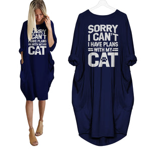Sorry I Can't I Have Plans With My Cat Dress