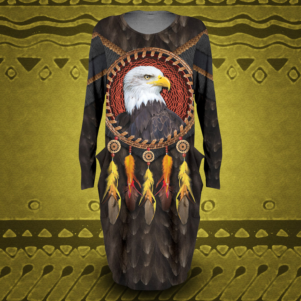 Tribal Eagle Dream Catcher Dress
