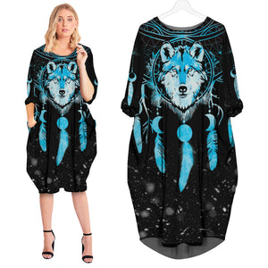 Winter Wolf Dream Catcher Dress