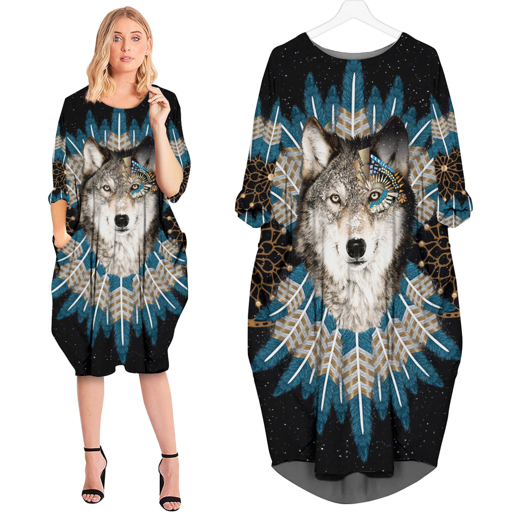 Wolf Dream Catcher Dress