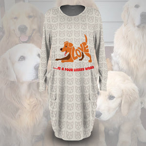 Four-Legged Word Dress