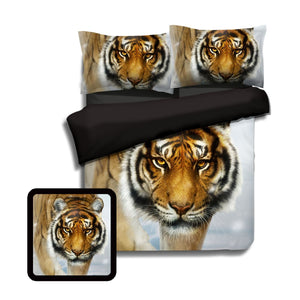 Snow Sentinel Bedding Set Twin Beddings