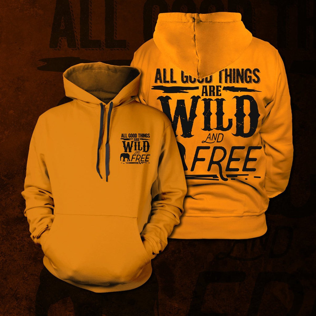 All Good Things Unisex Pullover Hoodie S