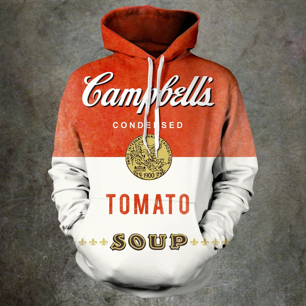 Warhol Campbell Unisex Pullover Hoodie S