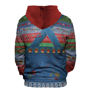 Chucky Christmas Unisex Pullover Hoodie