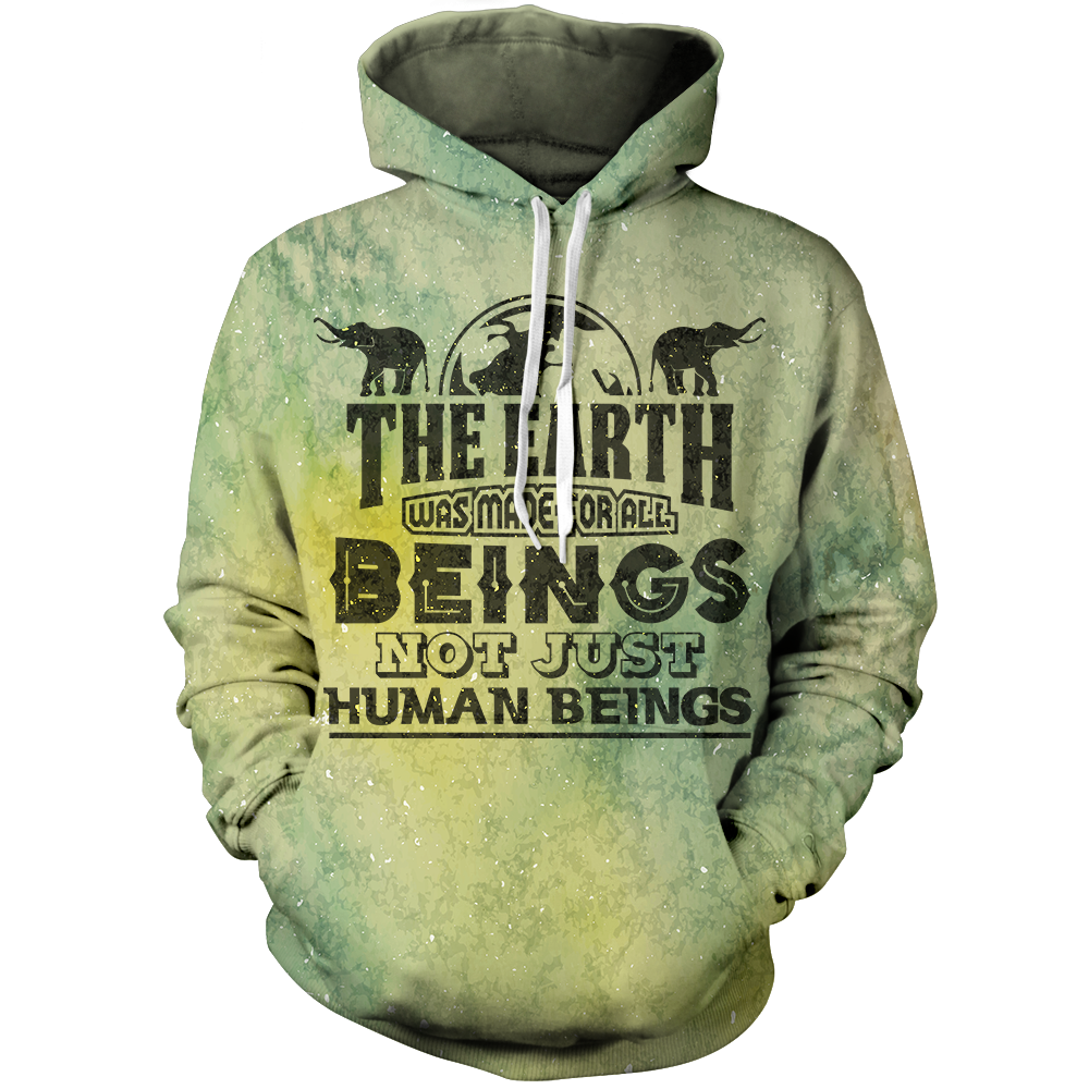 Earth Was Made Unisex Pullover Hoodie M