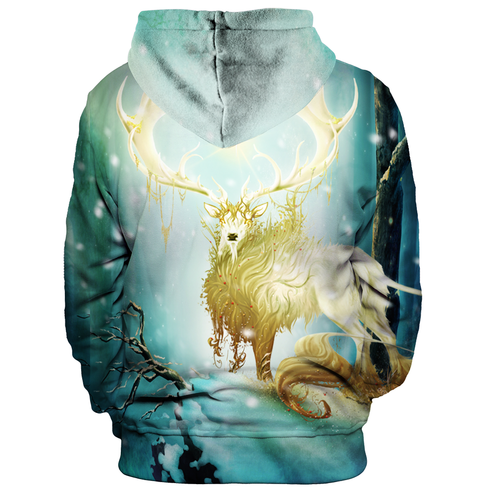 Forest Lord Christmas Unisex Pullover Hoodie