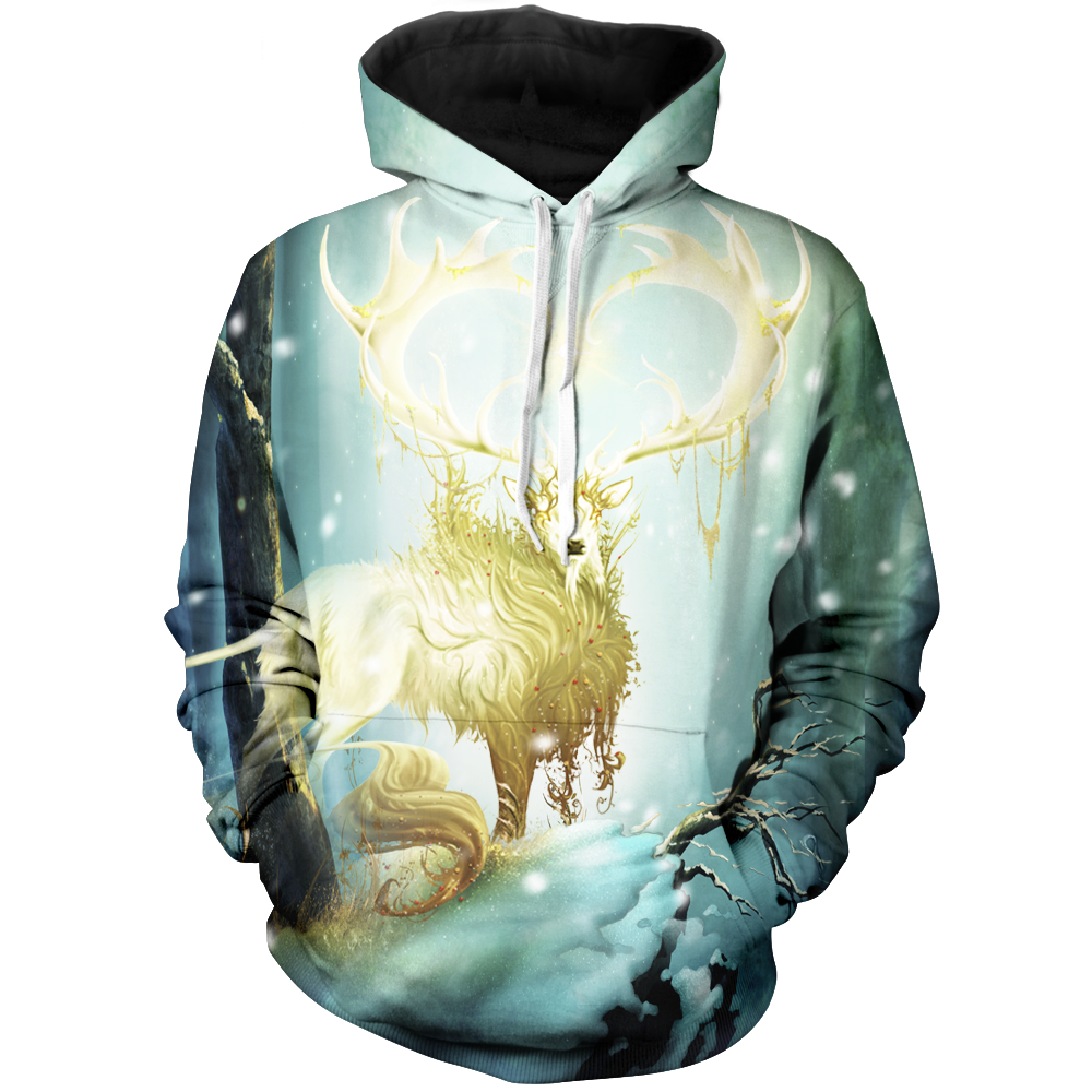 Forest Lord Christmas Unisex Pullover Hoodie M