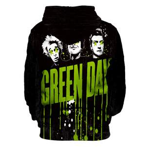 Green Day Unisex Pullover Hoodie