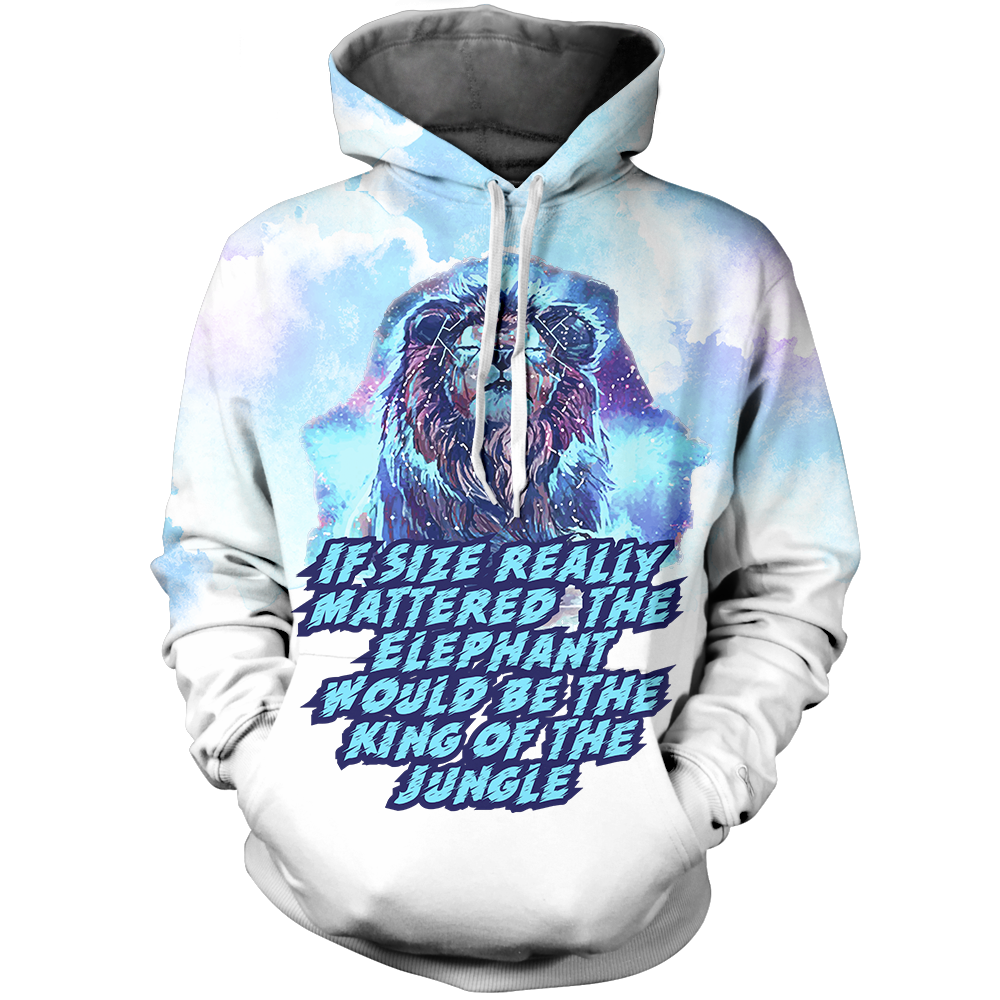 If Size Really Mattered Unisex Pullover Hoodie