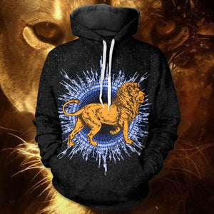 Jungle King Unisex Pullover Hoodie M