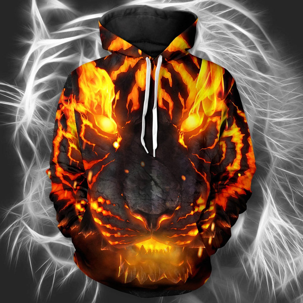 Soul Of Fire Unisex Pullover Hoodie M