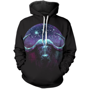 Space Flask Unisex Pullover Hoodie M