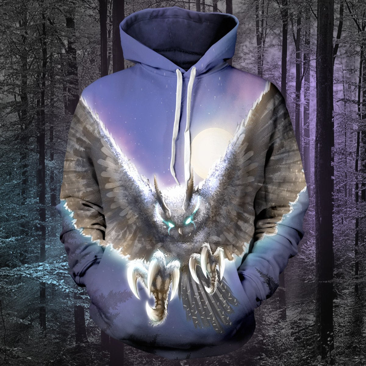 The Night Hunter Unisex Pullover Hoodie S