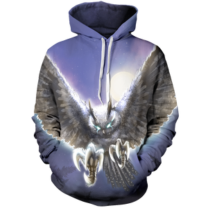 The Night Hunter Unisex Pullover Hoodie