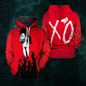 The Weeknd Unisex Pullover Hoodie S