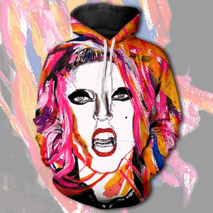 Mother Monster Unisex Pullover Hoodie S