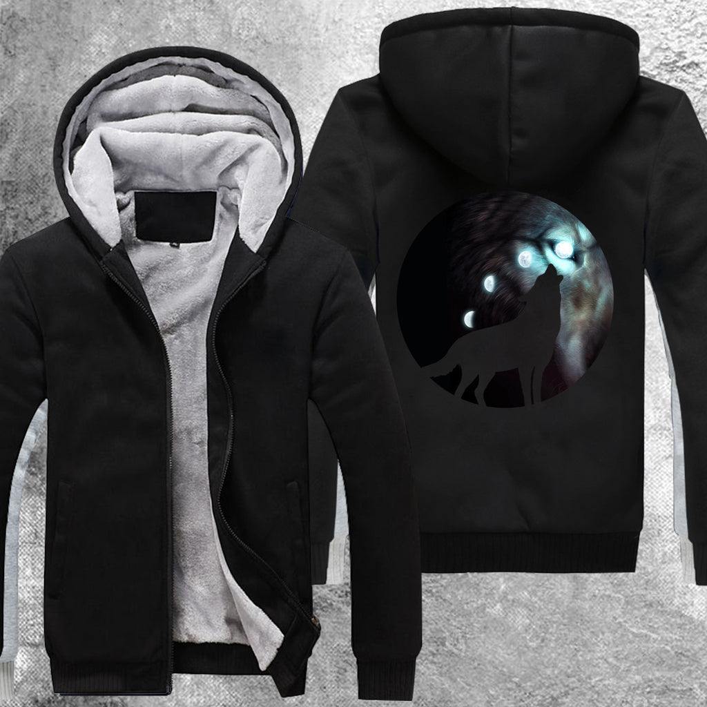 Hunters Moon Fleece Jacket Black / S