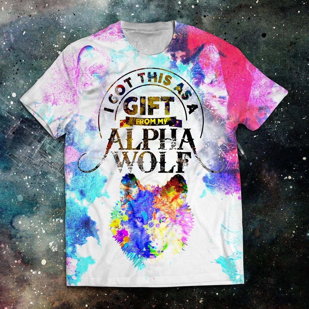I Got This As A Gift From My Alpha Wolf Unisex T-Shirt T-Shirt