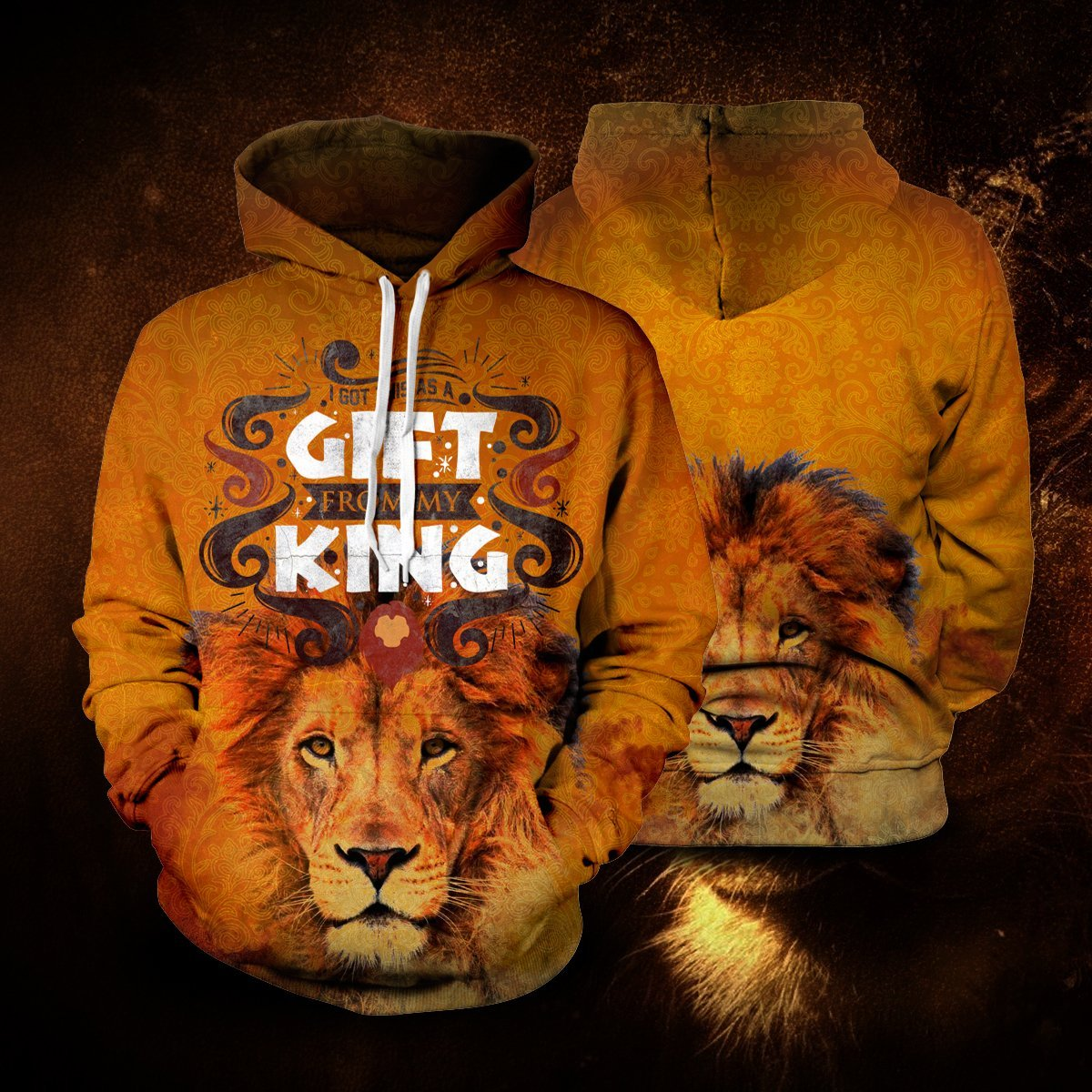 I Got This As A Gift From My King Unisex Pullover Hoodie