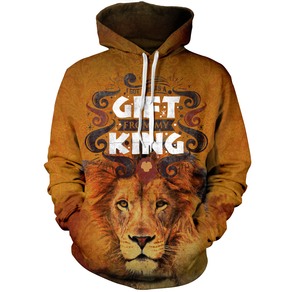 I Got This As A Gift From My King Unisex Pullover Hoodie M