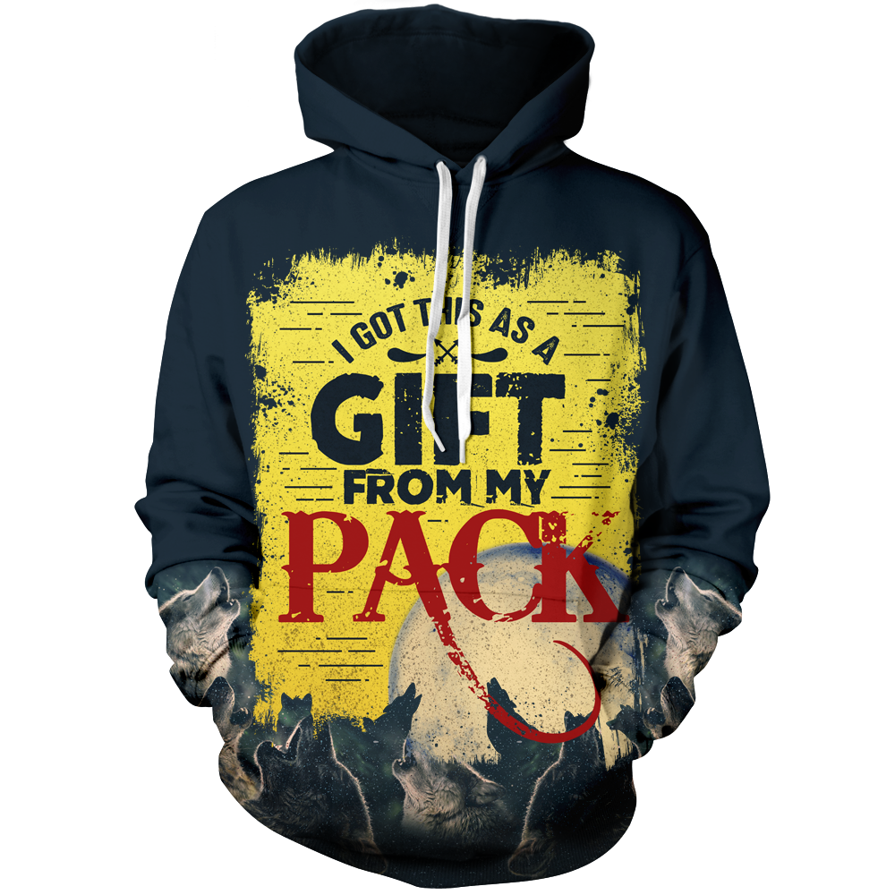 I got this as a gift from my pack Unisex Pullover Hoodie