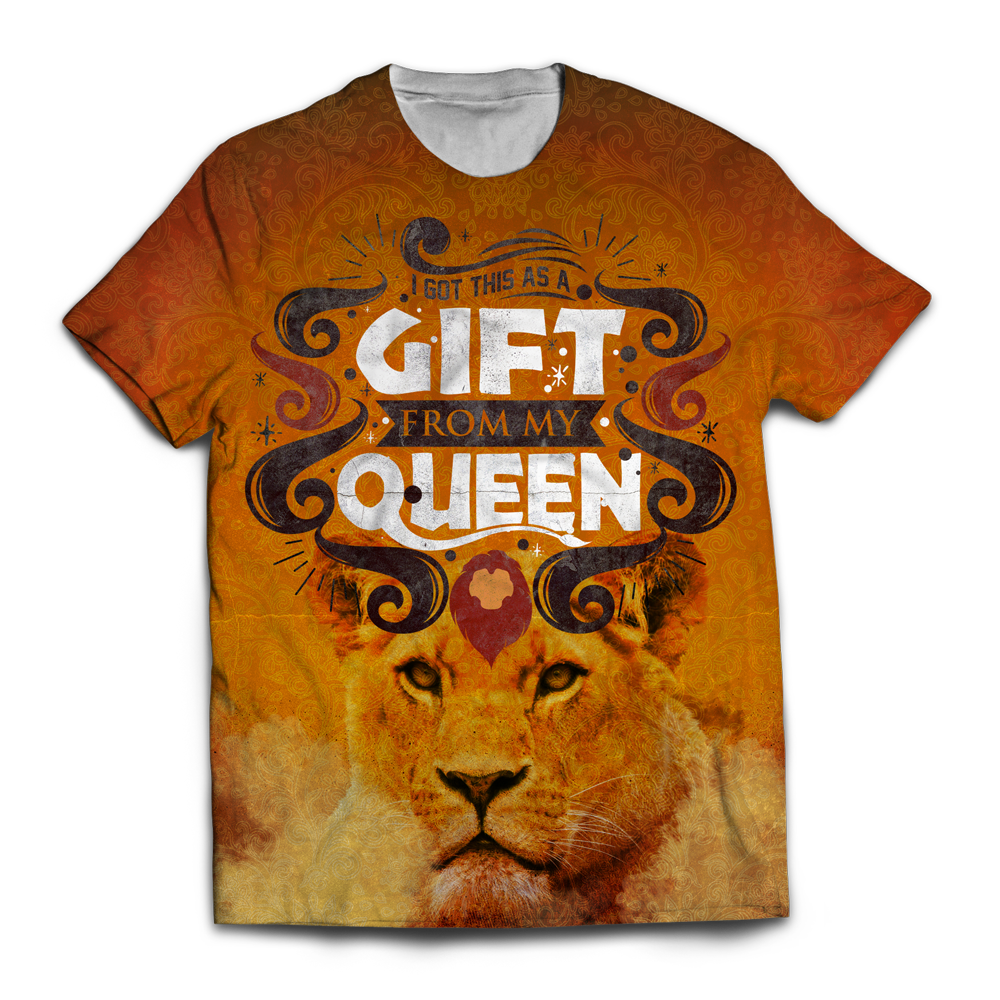 I Got This As A Gift From My Queen Unisex T-Shirt M