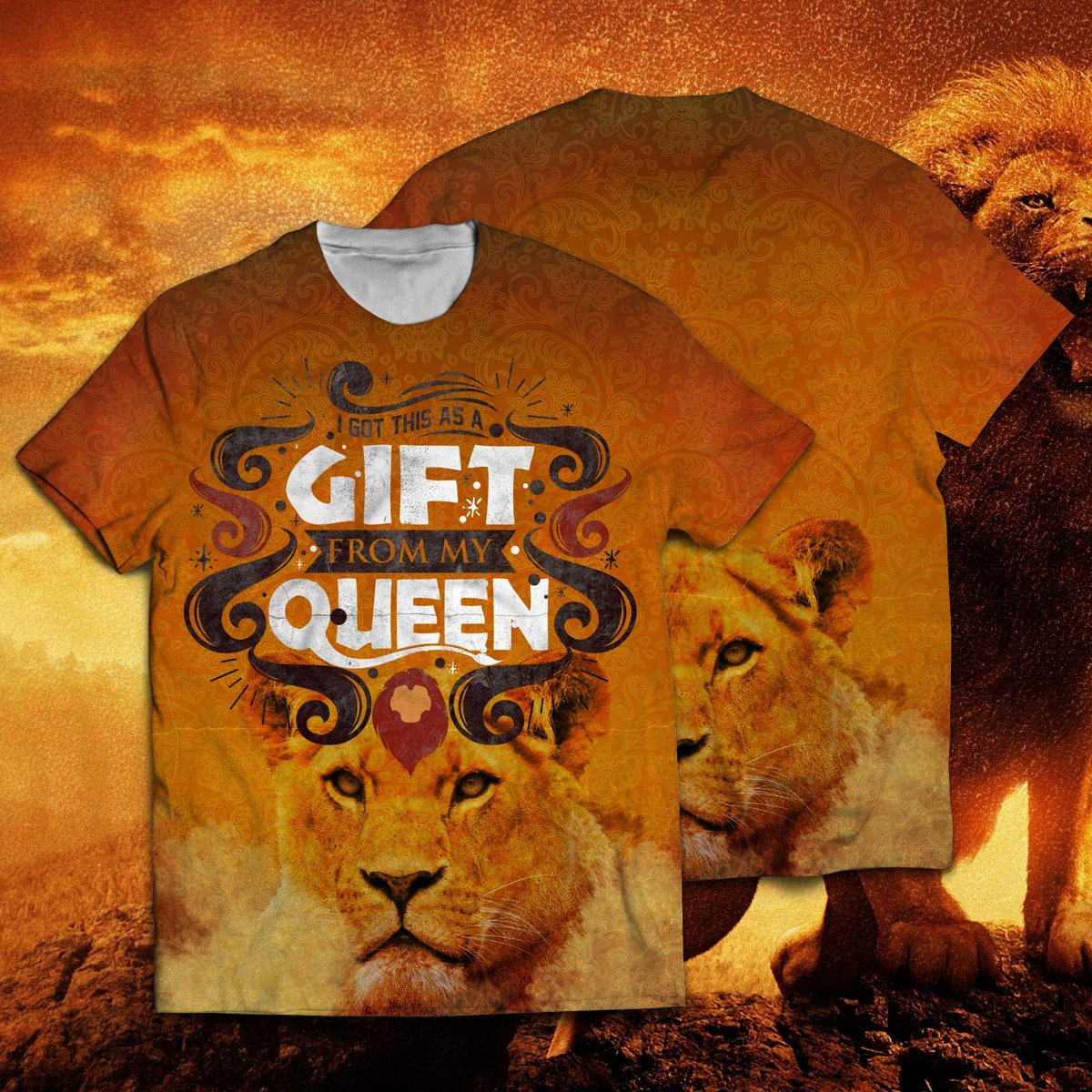 I Got This As A Gift From My Queen Unisex T-Shirt