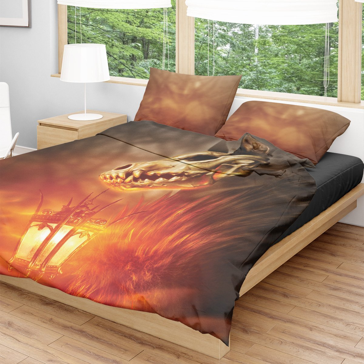 Ignis Fatuus Bedding Set Beddings