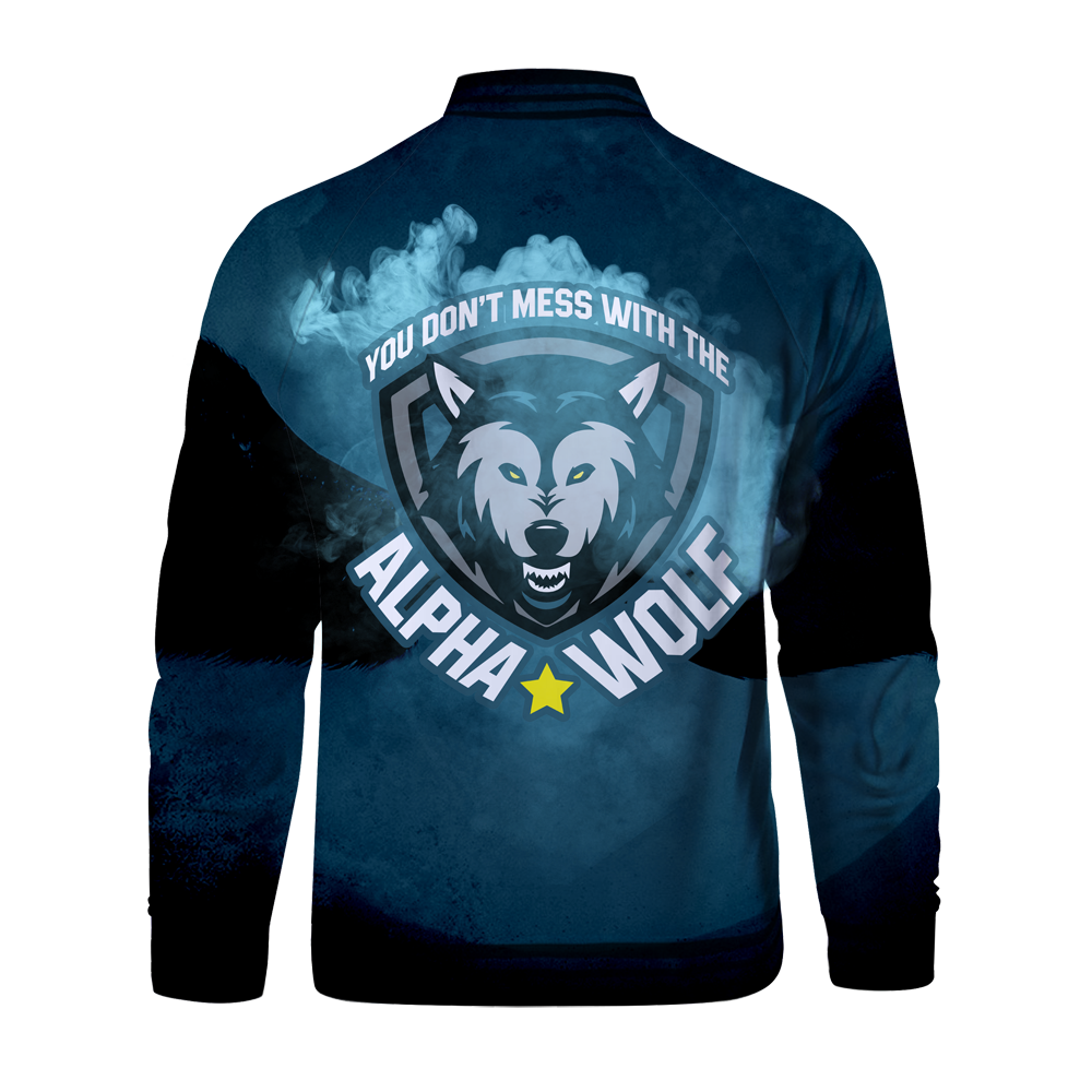 Alpha Wolf - V2 Zipped Jacket