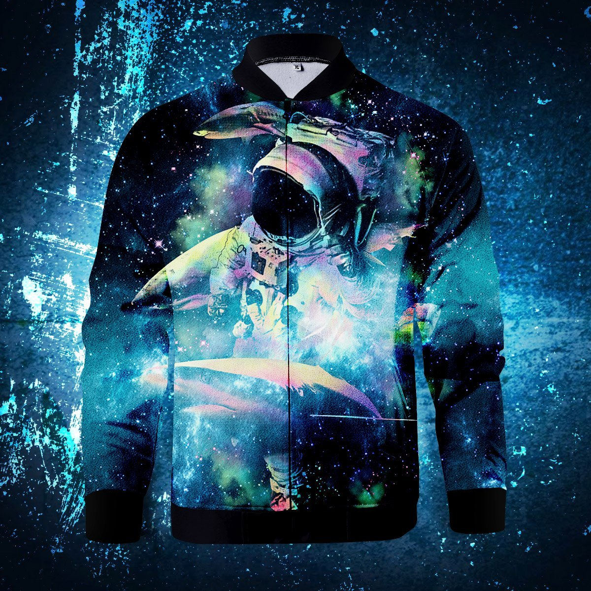 Deepest Space Zipped Jacket S