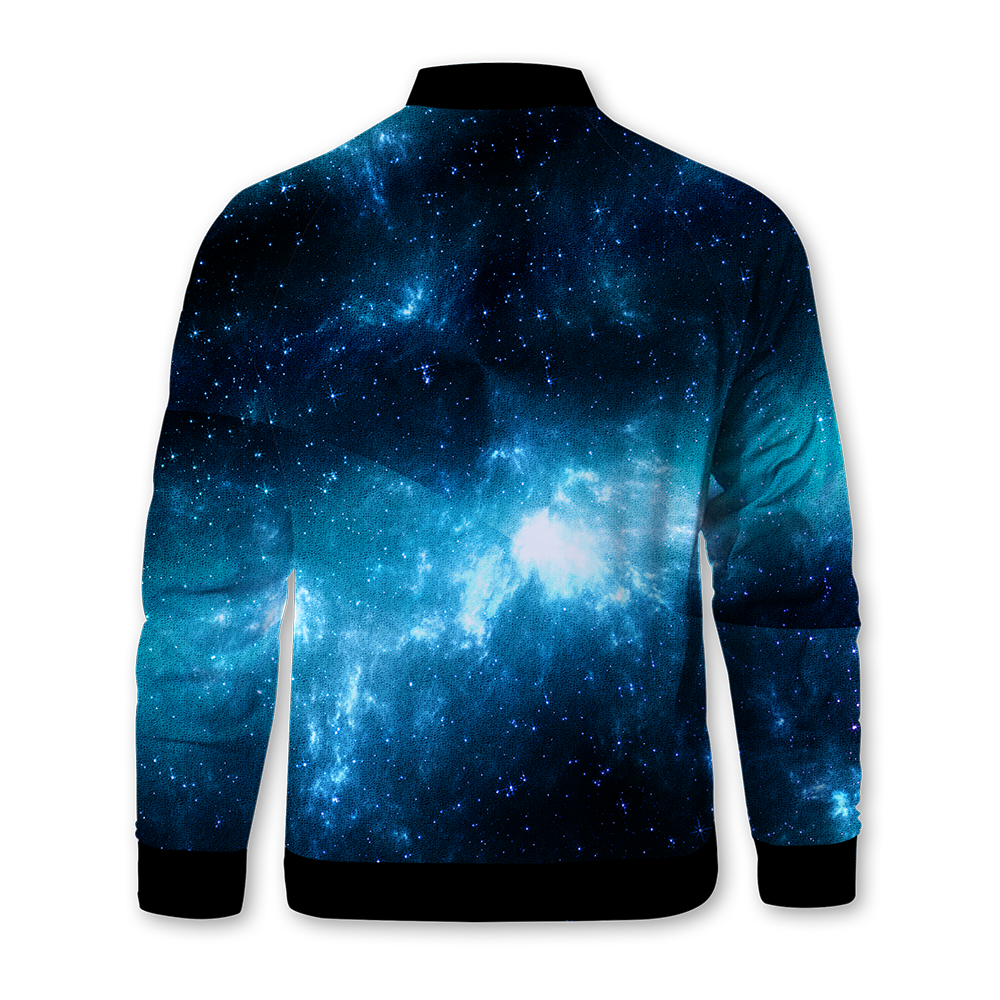 Deepest Space Zipped Jacket