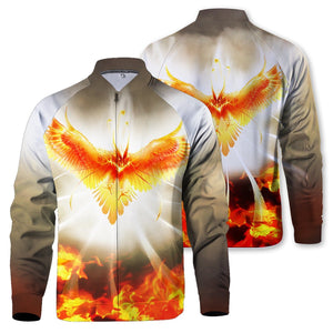 Flight Of Radiance Zipped Jacket S