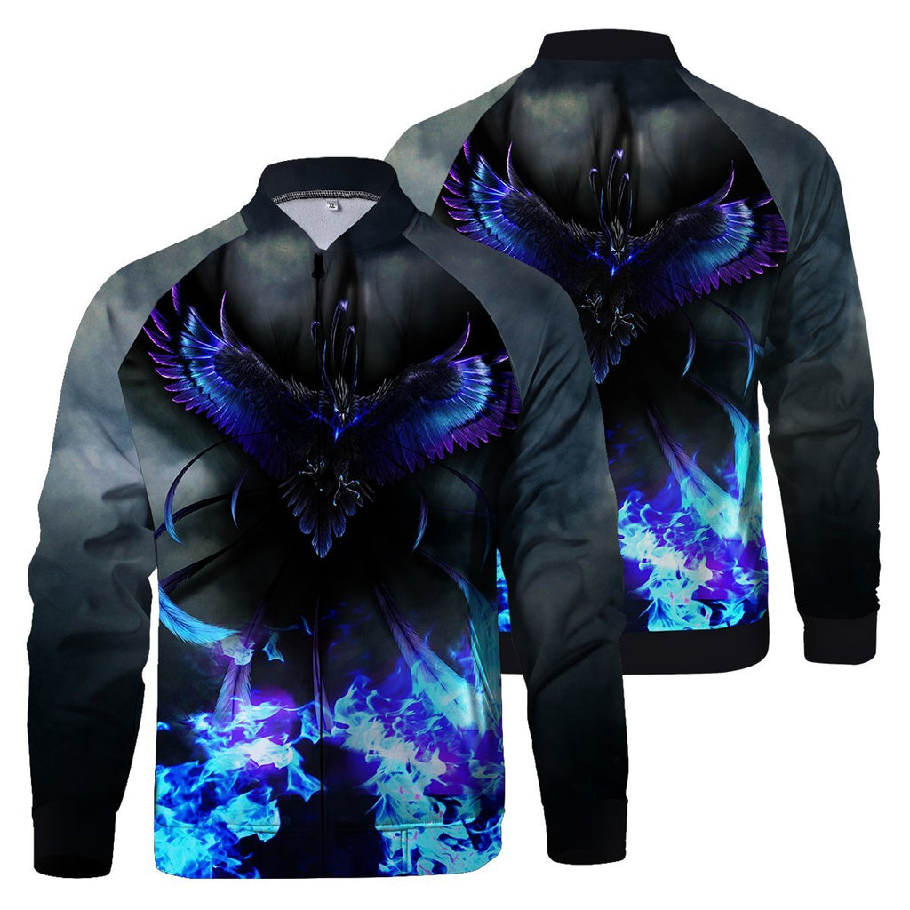 Flight Of Shadow Zipped Jacket S