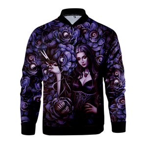 Morticia Addams Zipped Jacket