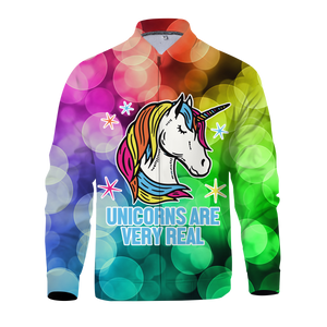 Unicorns Are Very Real Zipped Jacket