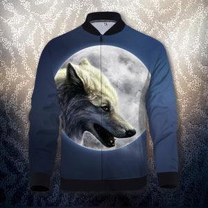 Wolfs Moon Zipped Jacket S