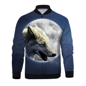 Wolfs Moon Zipped Jacket