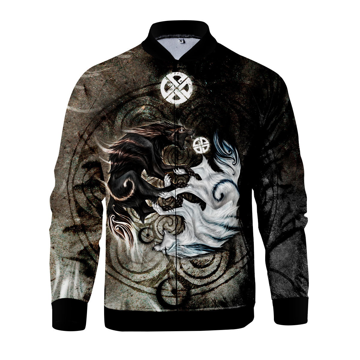 Legend Of Light & Darkness Zipped Jacket