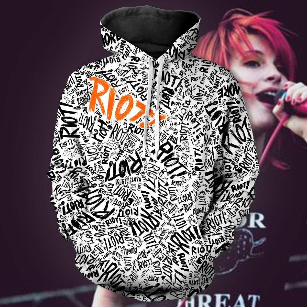 Riot Unisex Pullover Hoodie S