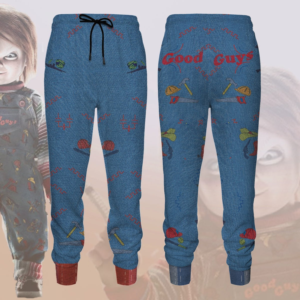 Chucky The Doll Jogger Pants S